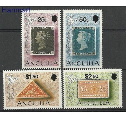Znaczek Anguilla 1990 Mi 836-839 Czyste **