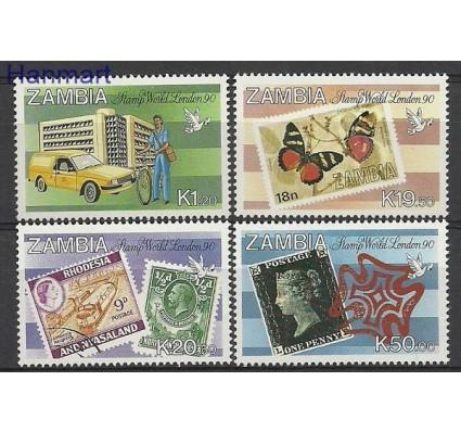Znaczek Zambia 1990 Mi 511-514 Czyste **