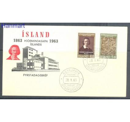 Znaczek Islandia 1963 Mi 368-369 FDC