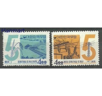 Znaczek Korea Południowa 1962 Mi 369-370 Z podlepką *