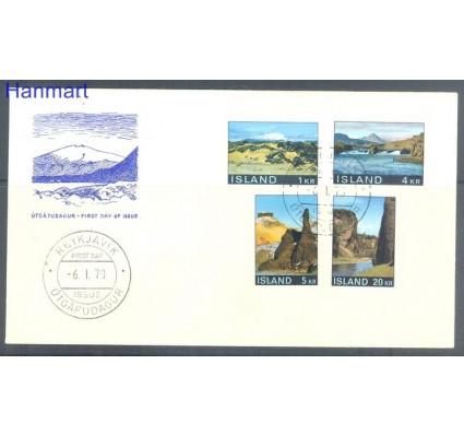 Znaczek Islandia 1970 Mi 434-437 FDC