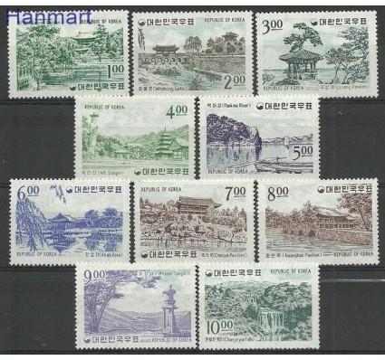 Znaczek Korea Południowa 1964 Mi 426-435 Z podlepką *