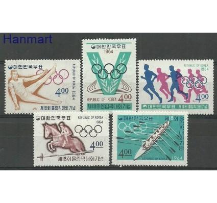 Znaczek Korea Południowa 1964 Mi 457-461 Z podlepką *