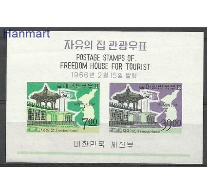 Znaczek Korea Południowa 1966 Mi bl 223 Z podlepką *