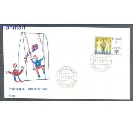 Znaczek Islandia 1979 Mi 543 FDC