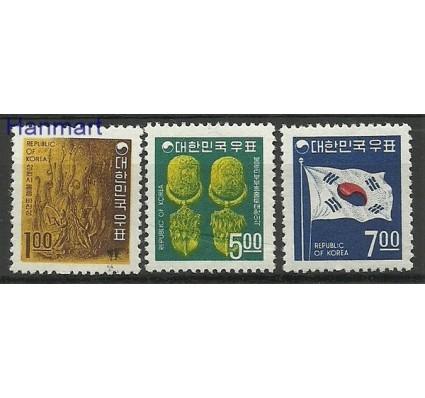 Znaczek Korea Południowa 1968 Mi 605-607 Czyste **
