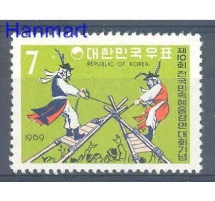 Znaczek Korea Południowa 1969 Mi 677 Czyste **