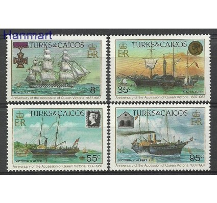 Znaczek Turks i Caicos 1987 Mi 791-794 Czyste **