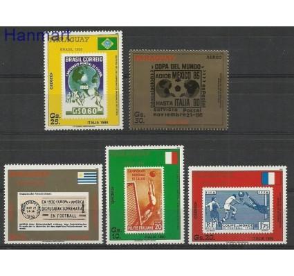 Znaczek Paragwaj 1988 Mi 4242-4246 Czyste **