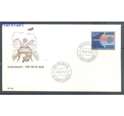 Znaczek Islandia 1983 Mi 605 FDC