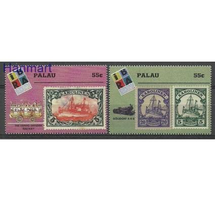 Znaczek Palau 1999 Mi 1453-1454 Czyste **