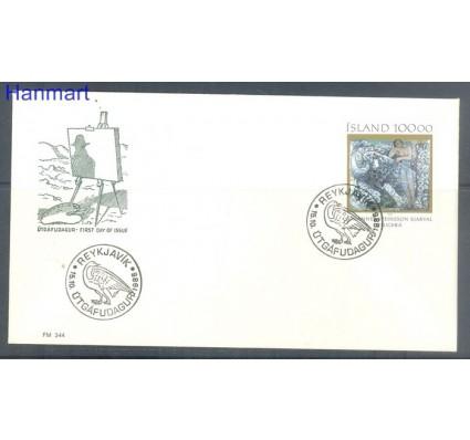 Znaczek Islandia 1985 FDC