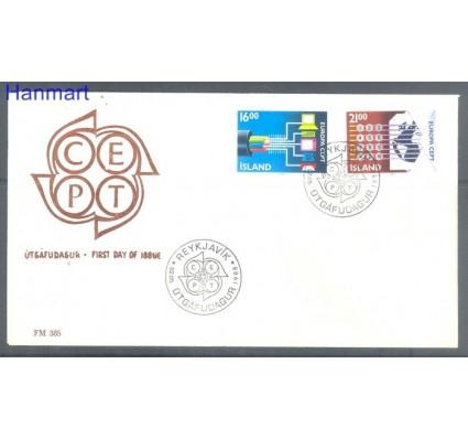 Znaczek Islandia 1988 Mi 682-683 FDC