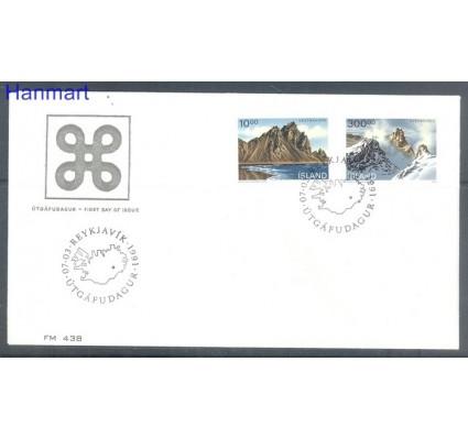 Znaczek Islandia 1991 FDC