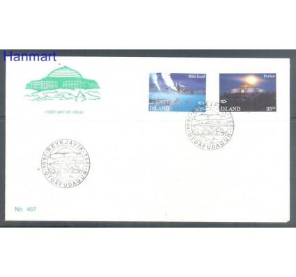 Znaczek Islandia 1993 Mi 784-785 FDC