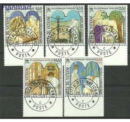 Znaczek Watykan 2001 Mi 1375-1379 Stemplowane