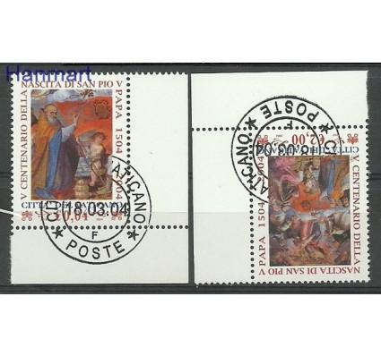 Znaczek Watykan 2004 Mi 1482-1483 Stemplowane