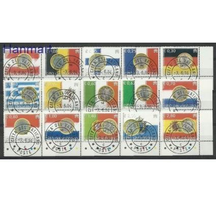 Znaczek Watykan 2004 Mi 1491-1505 Stemplowane