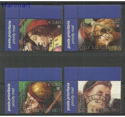 Znaczek Watykan 2005 Mi 1525-1528 Stemplowane