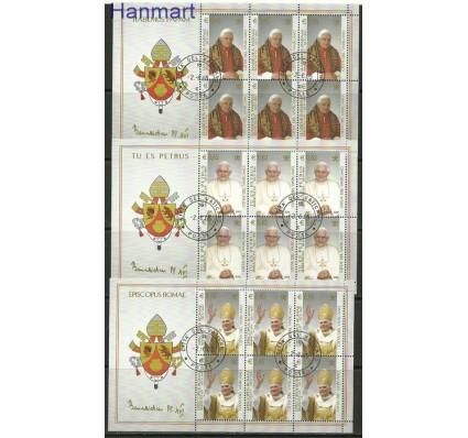 Znaczek Watykan 2005 Mi 1517-1519 Stemplowane