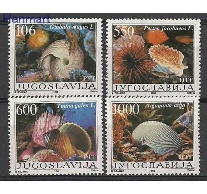 Znaczek Jugosławia 1988 Mi 2275-2278 Czyste **