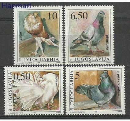 Znaczek Jugosławia 1990 Mi 2425-2428 Czyste **