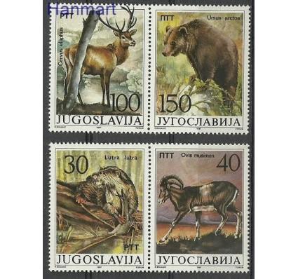 Znaczek Jugosławia 1987 Mi 2206-2209 Czyste **