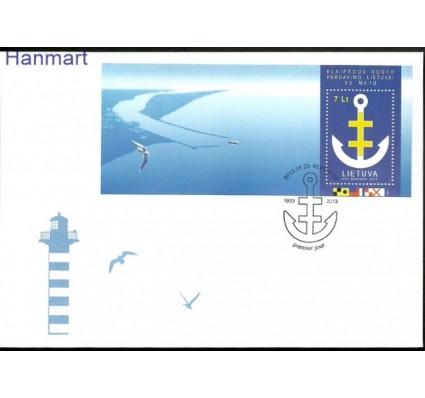 Znaczek Litwa 2013 Mi bl 48 FDC