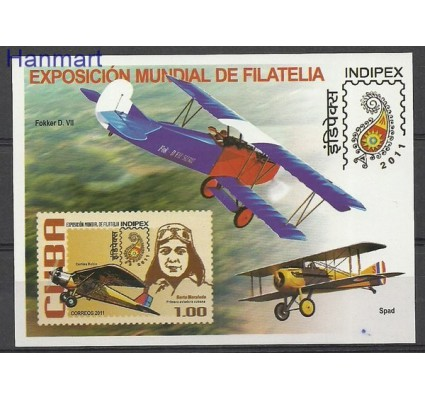 Znaczek Kuba 2011 Mi bl 283 Czyste **