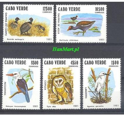 Wyspy Zielonego Przylądka 1981 Mi 445-449 Czyste **