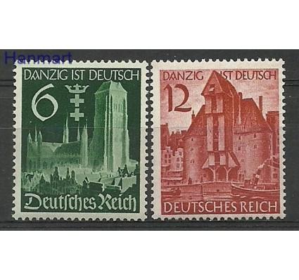 Znaczek Deutsches Reich / III Rzesza 1939 Mi 714-715 Czyste **