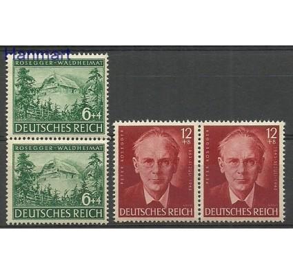 Znaczek Deutsches Reich / III Rzesza 1943 Mi 855-856 Czyste **