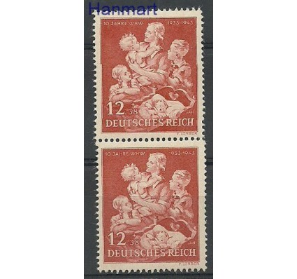 Znaczek Deutsches Reich / III Rzesza 1943 Mi par 859 Czyste **