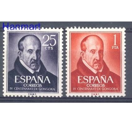 Znaczek Hiszpania 1961 Mi 1264-1265 Czyste **