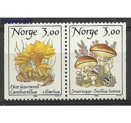 Znaczek Norwegia 1989 Mi 1012-1013 Czyste **