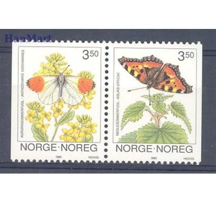 Znaczek Norwegia 1993 Mi 1114-1115 Czyste **