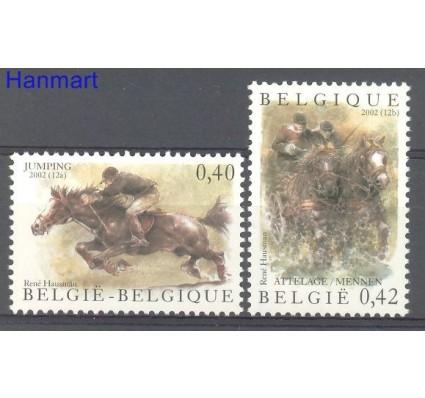 Znaczek Belgia 2002 Mi 3134-3135 Czyste **