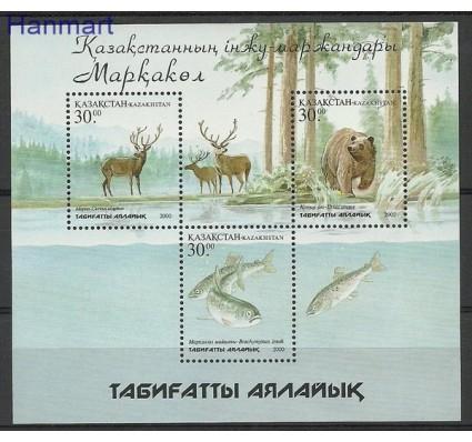 Znaczek Kazachstan 2001 Mi bl 20 Czyste **