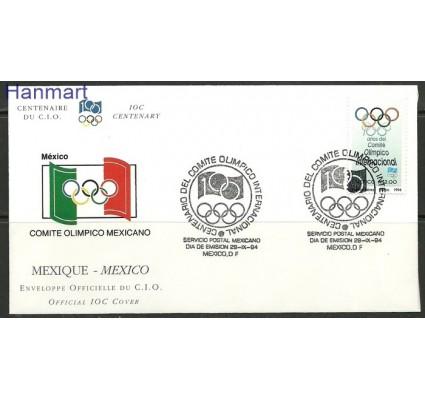 Znaczek Meksyk 1994 Mi 2447 FDC