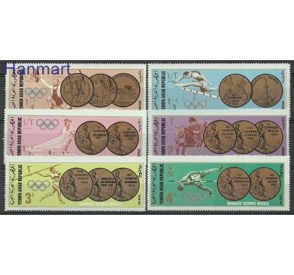Znaczek Jemen Północny 1968 Mi 796-801 Czyste **
