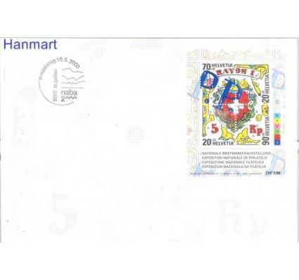 Znaczek Szwajcaria 2000 Mi bl 30 FDC