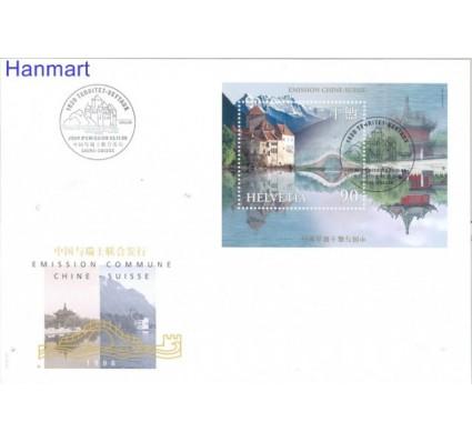 Znaczek Szwajcaria 1999 Mi bl 28 FDC