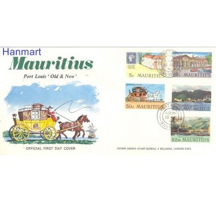 Znaczek Mauritius 1970 Mi 366-370 FDC