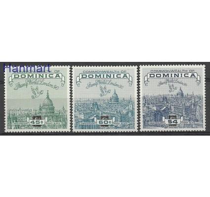 Znaczek Dominika 1990 Mi 1310-1312 Czyste **