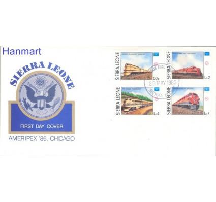 Znaczek Sierra Leone 1986 Mi 892-895 FDC