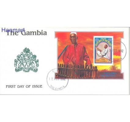 Znaczek Gambia 1992 Mi bl 143 FDC
