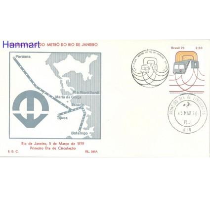 Znaczek Brazylia 1979 Mi 1695 FDC