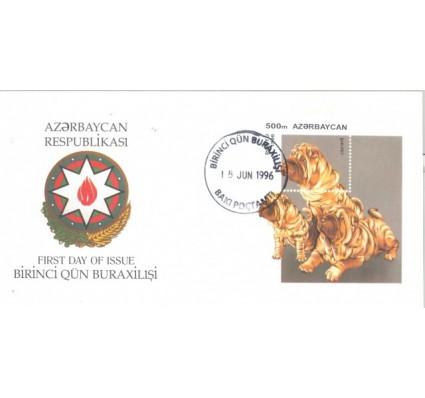 Znaczek Azerbejdżan 1996 Mi bl 22 FDC