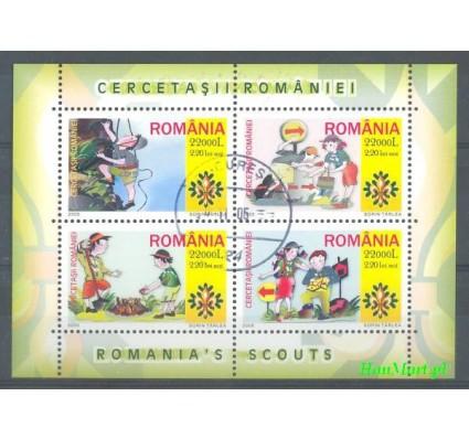 Znaczek Rumunia 2005 Mi bl 357 Stemplowane