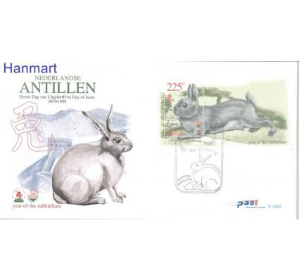 Znaczek Antyle Holenderskie 1999 Mi bl 50 FDC